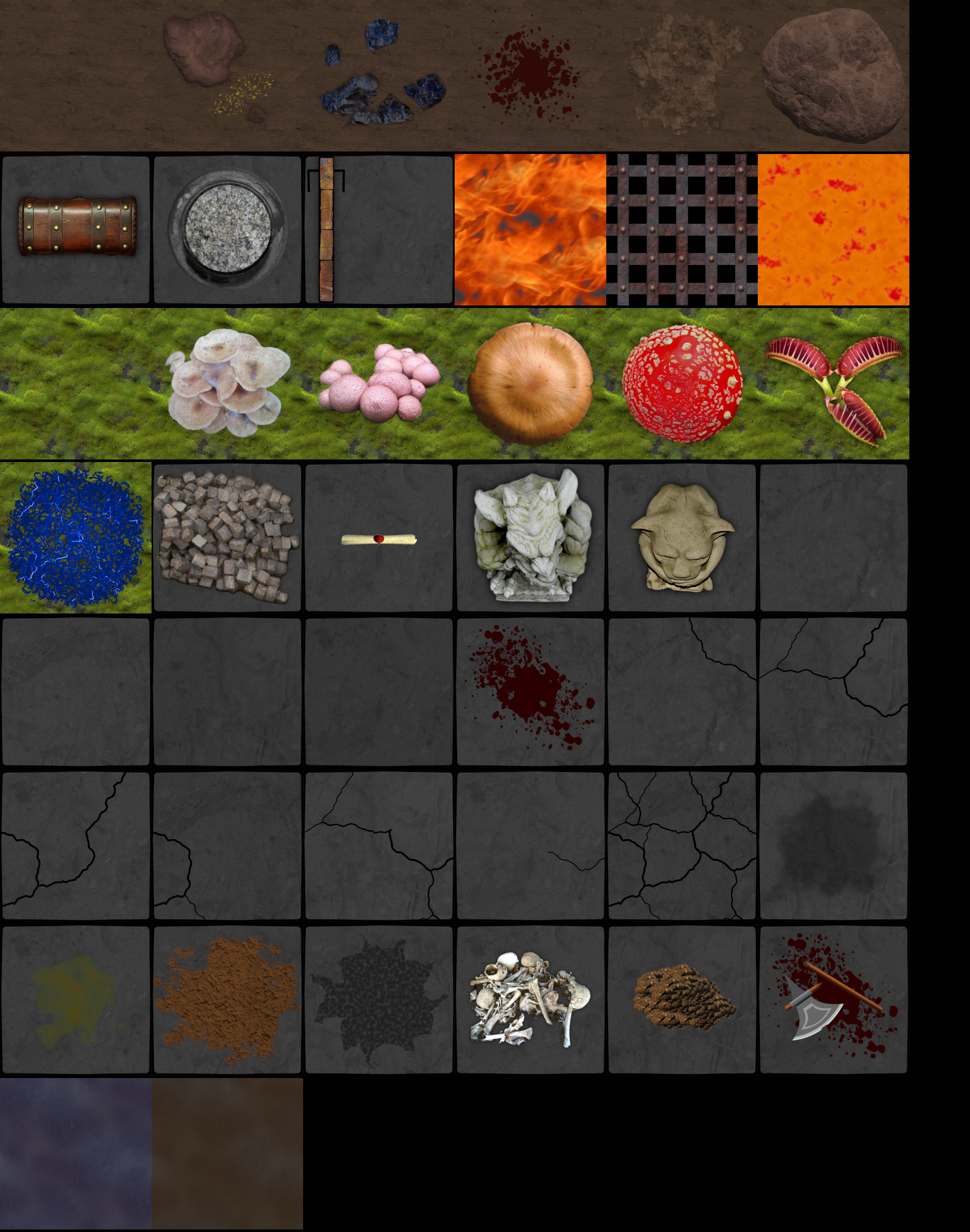 Rogue-like Dungeon Tiles | OpenGameArt org