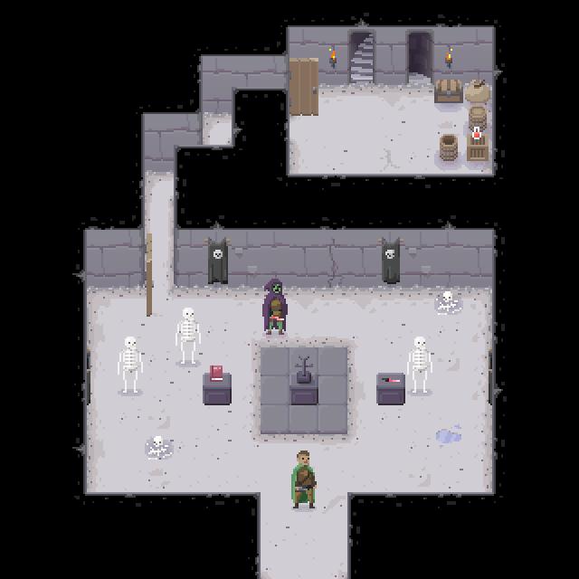 Dungeon Tileset Opengameart Org