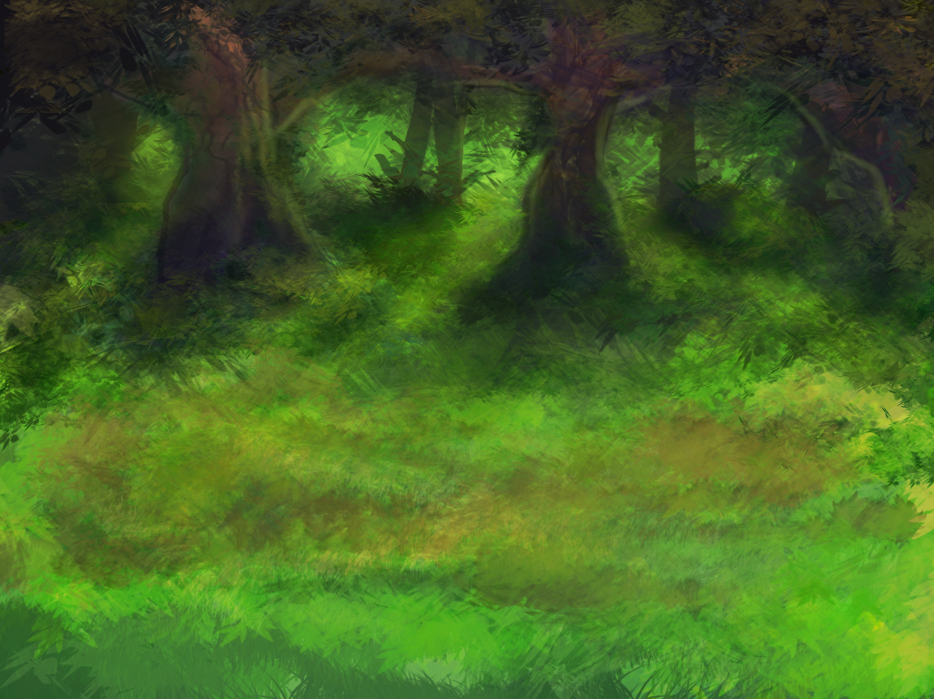 Forest Background Art Opengameart Org