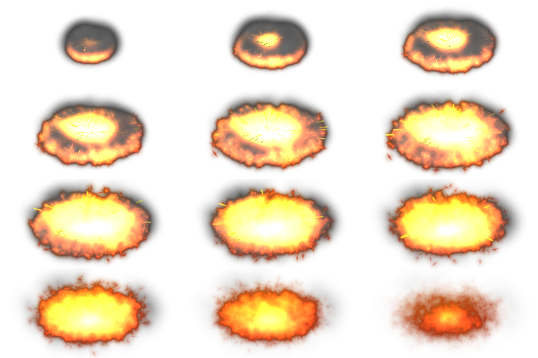 Fire Spell Explosion | OpenGameArt.org