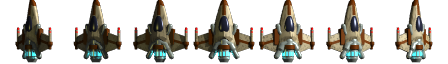 Top-down space fighter sprite | OpenGameArt.org