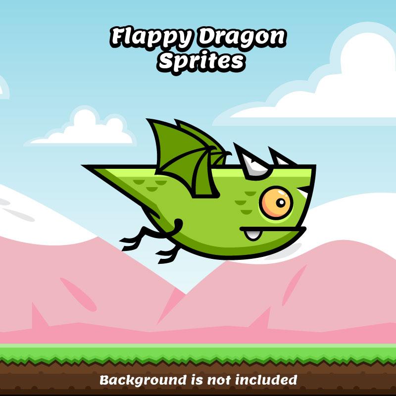 flappy dragon sprite sheets