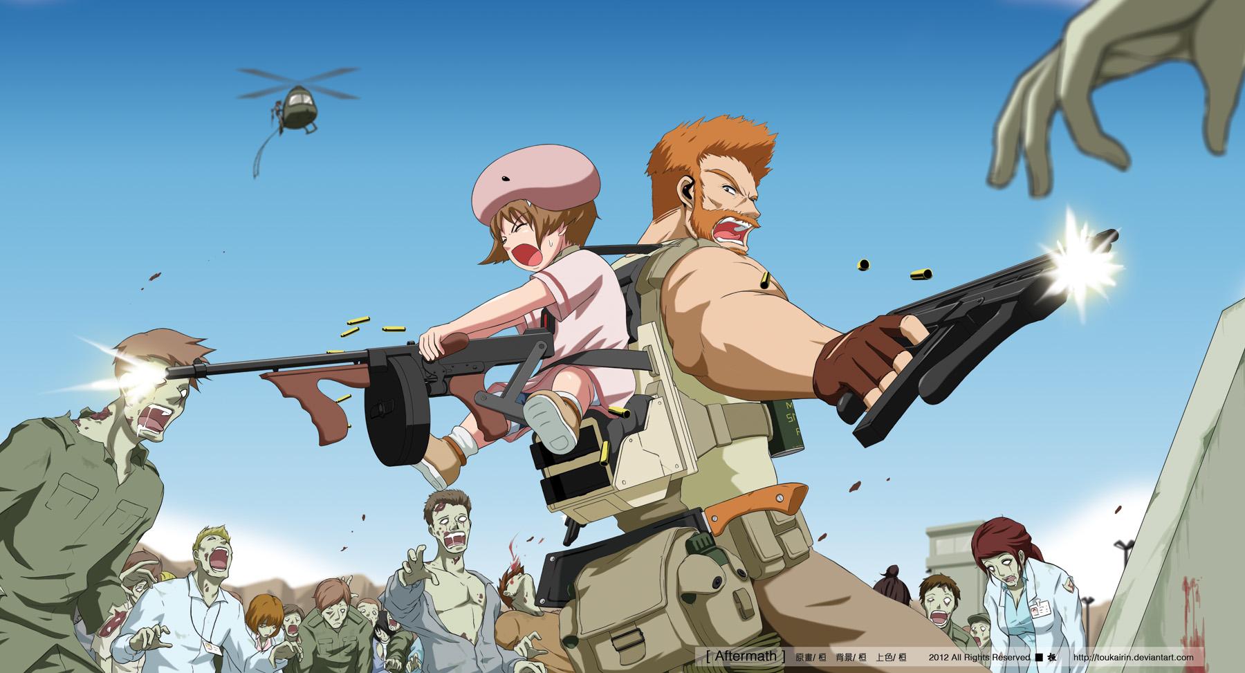 Manga Anime Concept Artist