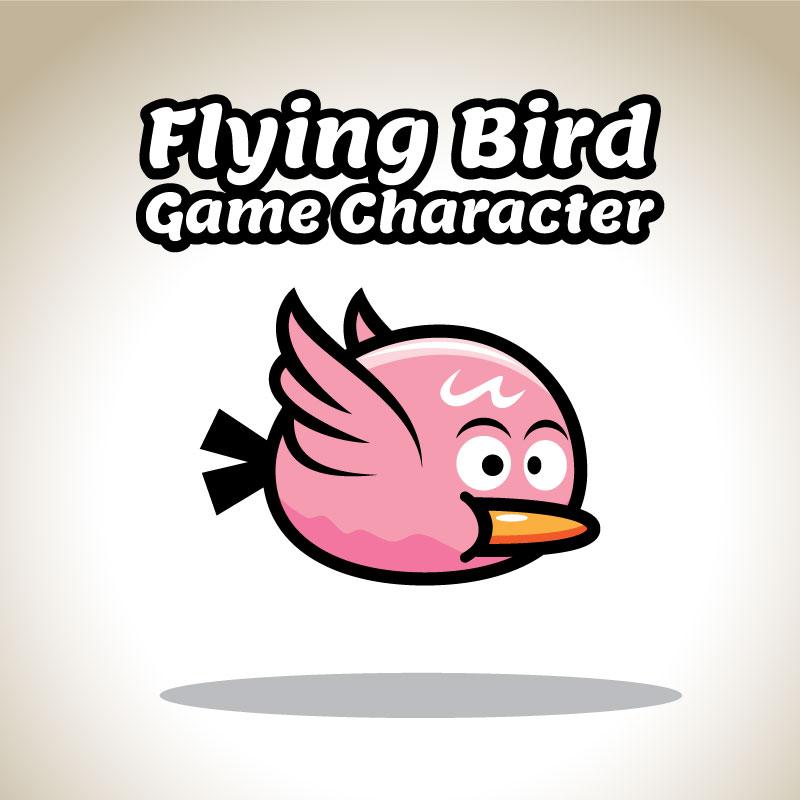pink flappy bird sprite sheets