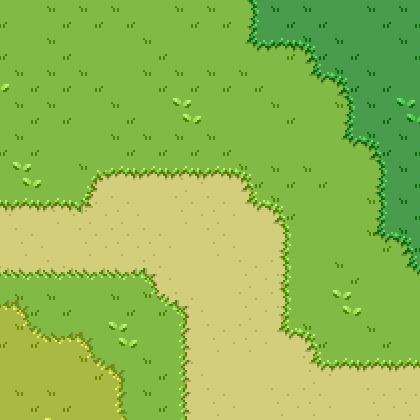 Grass Tileset 16x16 Opengameart Org