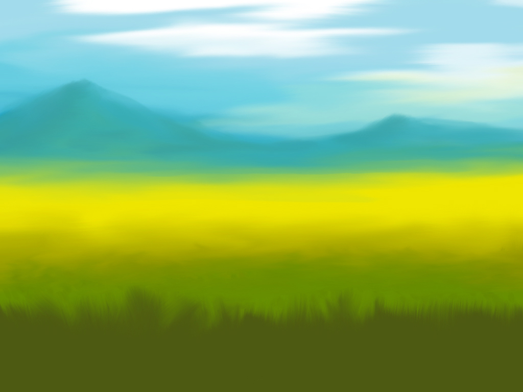 grassy plains background
