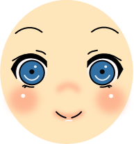 Vector art anime facial expressions | OpenGameArt.org