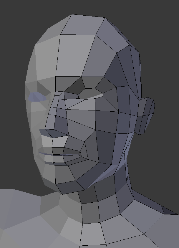 Low-poly Human Female