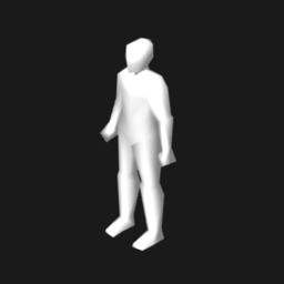 Very Low Poly Human Opengameart Org
