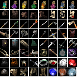 32x32 Icons Flare Compatible Opengameart Org