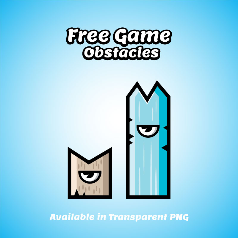 Bevouliin Free Ingame Obstacles Cyclop Spikes Opengameart Org
