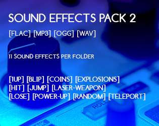 Sound effects Pack 2   OpenGameArt org