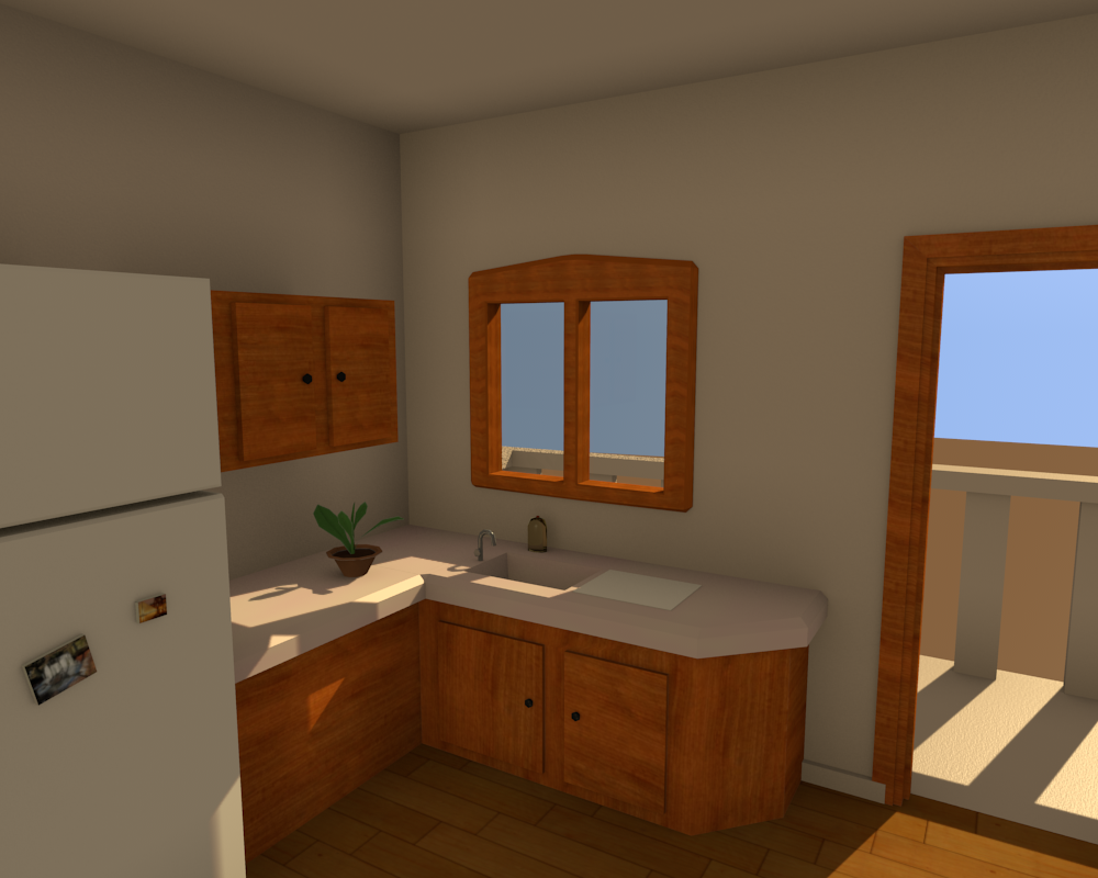Kitchen Low Poly Opengameart Org