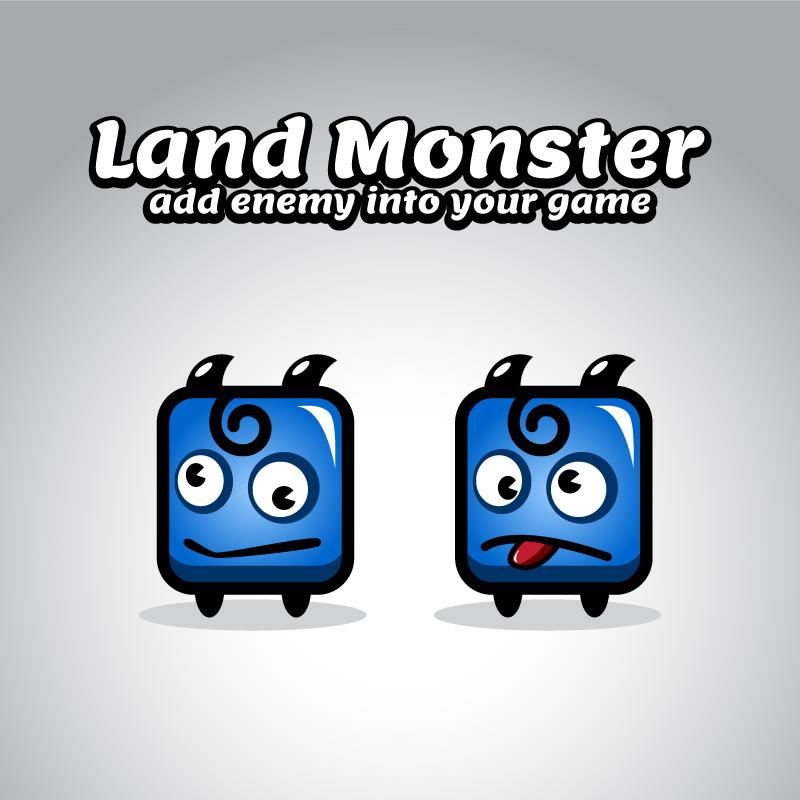 Rabiteman S Game Music Page: Blue Land Monster Sprites