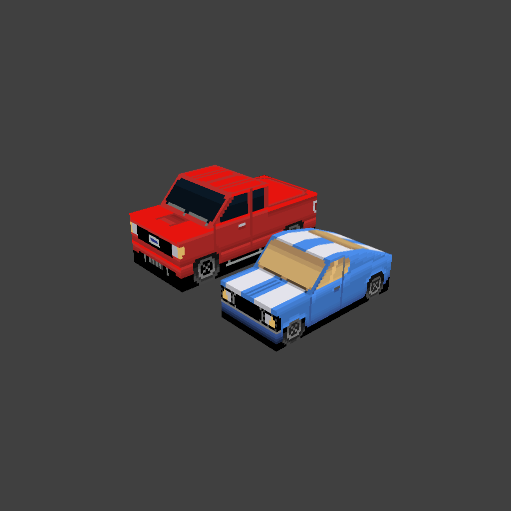 Low poly cars | OpenGameArt org