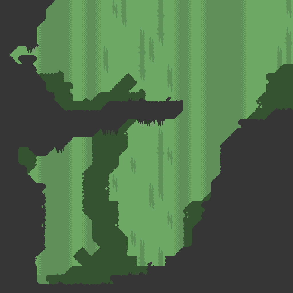 Minimalist pixel tileset for Minimal art referat