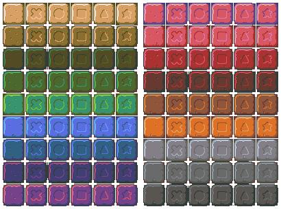 Game Art - Any way to split a sheet? : gamedev