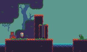 A Platformer In The Forest Opengameart Org