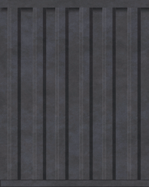 Shipping Container Texture Pack Container004 Grey Png