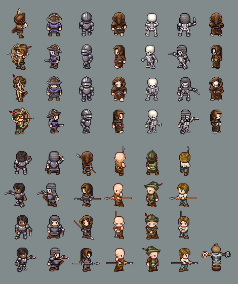 Lpc Medieval Fantasy Character Sprites Opengameart Org