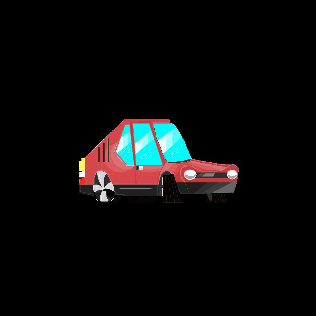 Pixel Car Art Game