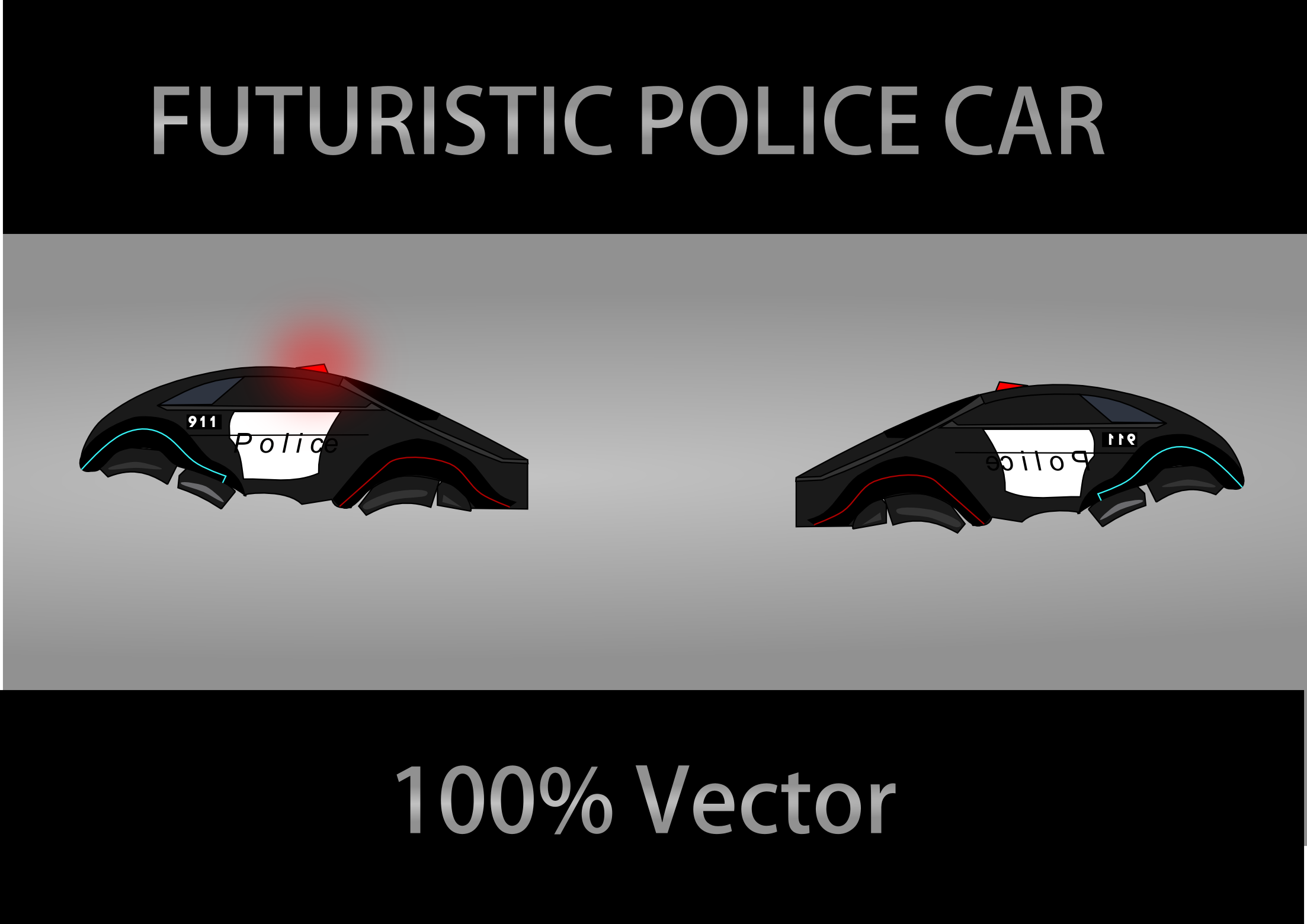 2d Futuristic Police Car Opengameart Org