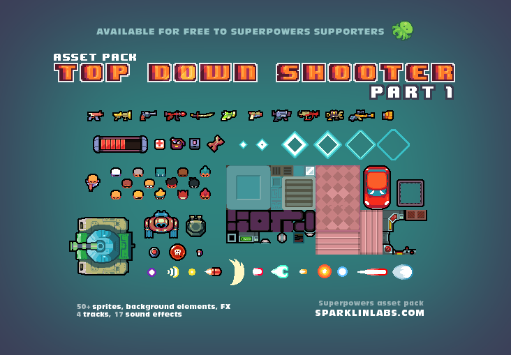 Superpowers Assets Various 2d Opengameart Org