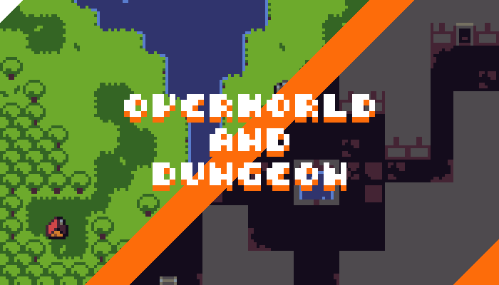 Micro Tileset Overworld And Dungeon Opengameart Org