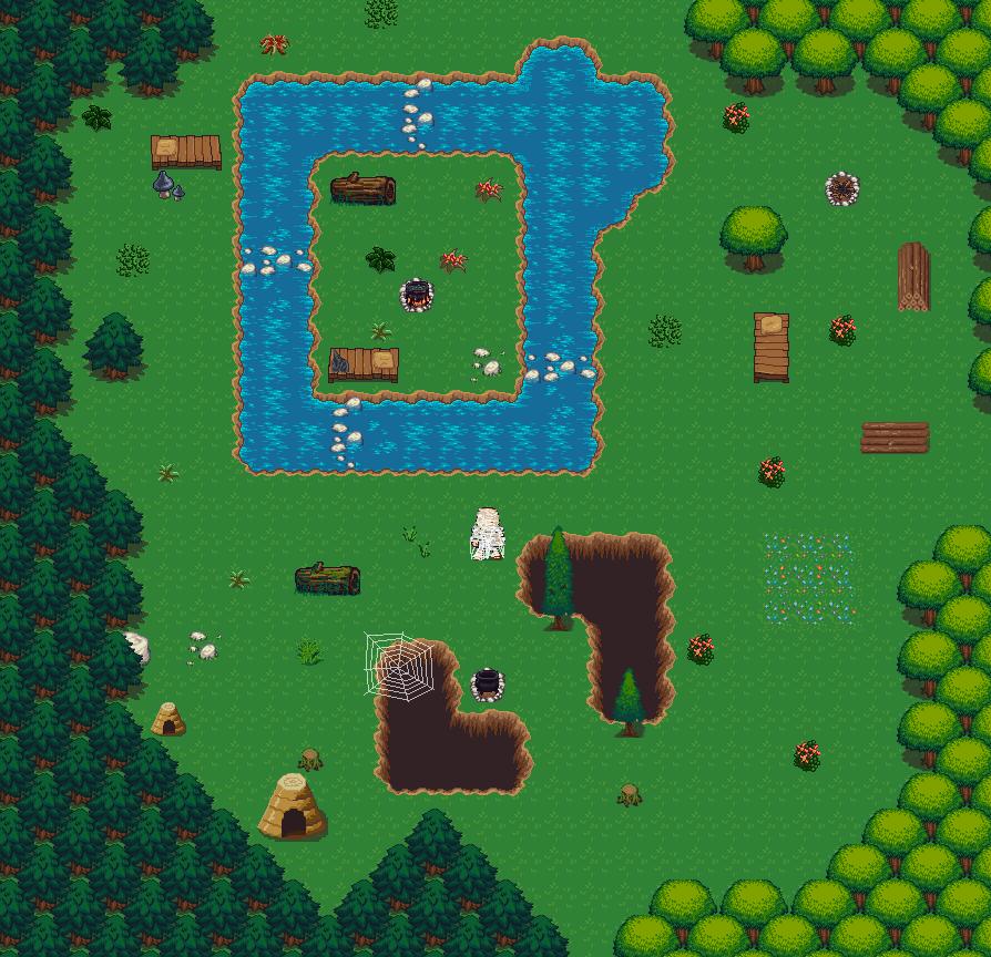 Lpc Forest Tiles Opengameart Org