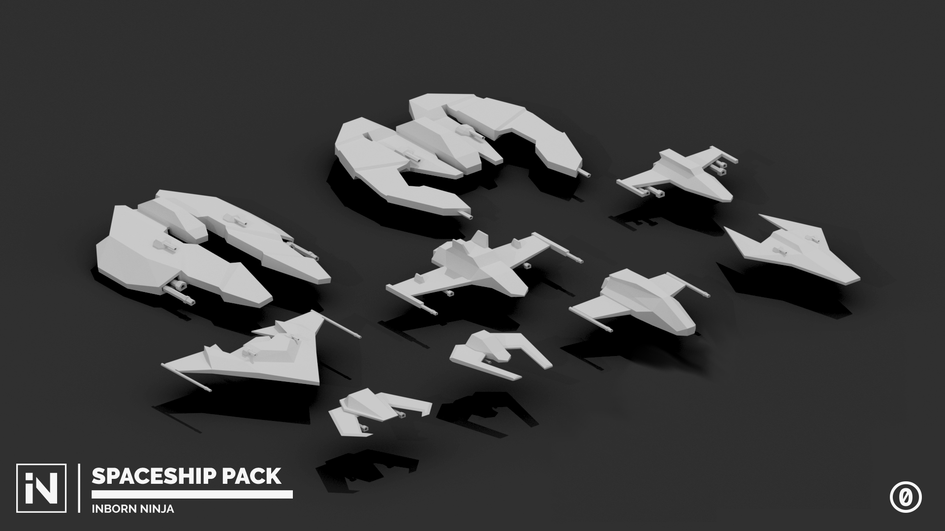 3d Spaceships Pack Opengameart Org