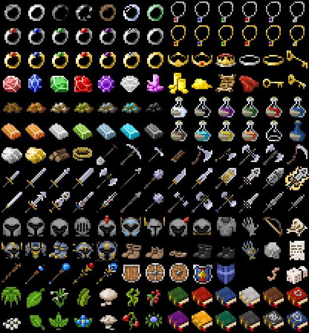 Roguelike/RPG Items