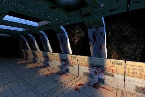 Horror sci-fi 3d map kit | OpenGameArt org
