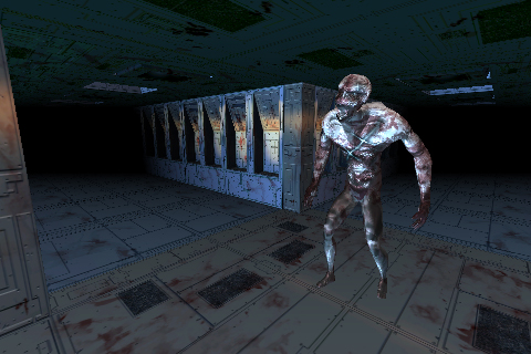 Horror sci-fi 3d map kit | OpenGameArt org