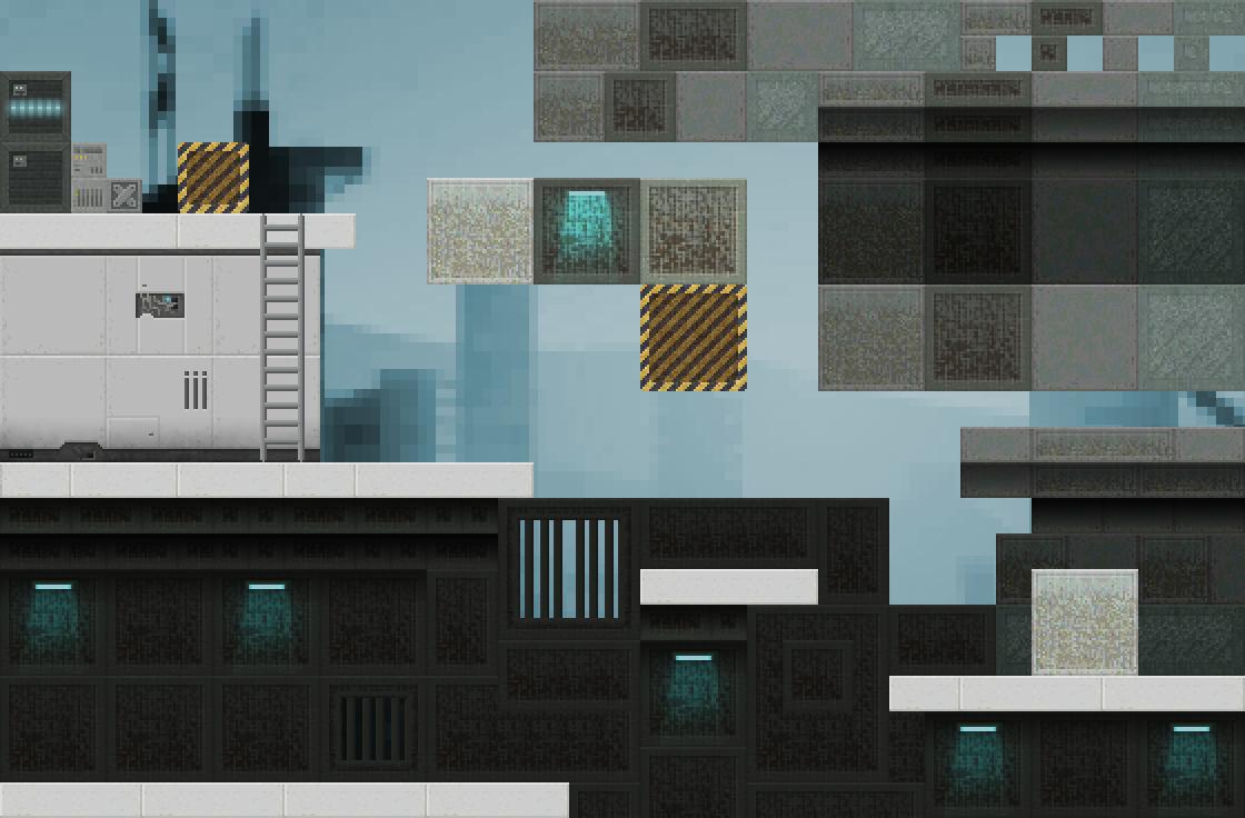 Sci Fi Platform Tiles Opengameart Org