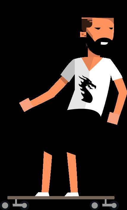 2d Skater Sprites Opengameart Org