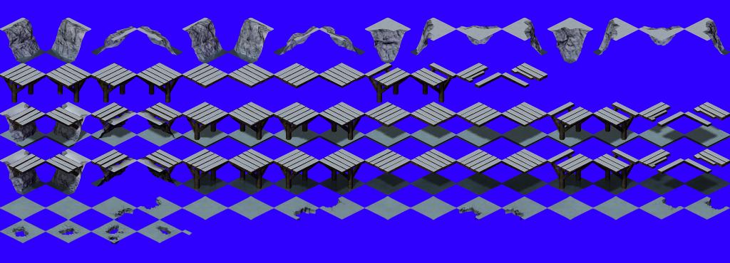 Isometric Snow Tileset Flare Opengameart Org