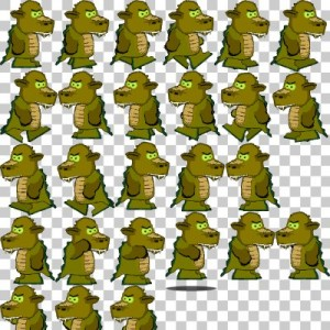 Biped Dragon Sprite Sheet | OpenGameArt.org | 300 x 300 jpeg 46kB