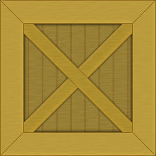 Simple Toon Wooden Crate Texture
