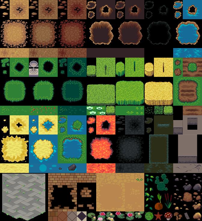 lpc terrain repack opengameart org