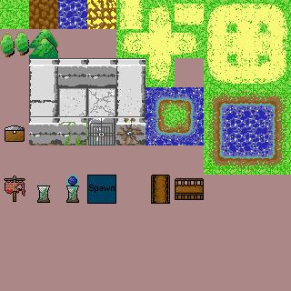 RPG Item/Terrain/Character Sprites -- Ice Insignia