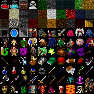 Dungeon Crawl 32x32 Tiles Opengameart Org