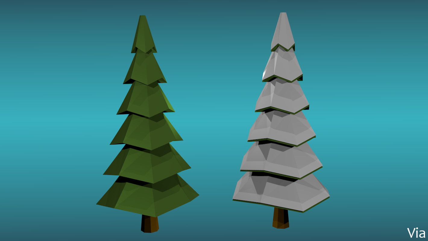 preview - Polytree Christmas Tree