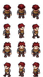 Universal LPC Sprite Male 01 | OpenGameArt org