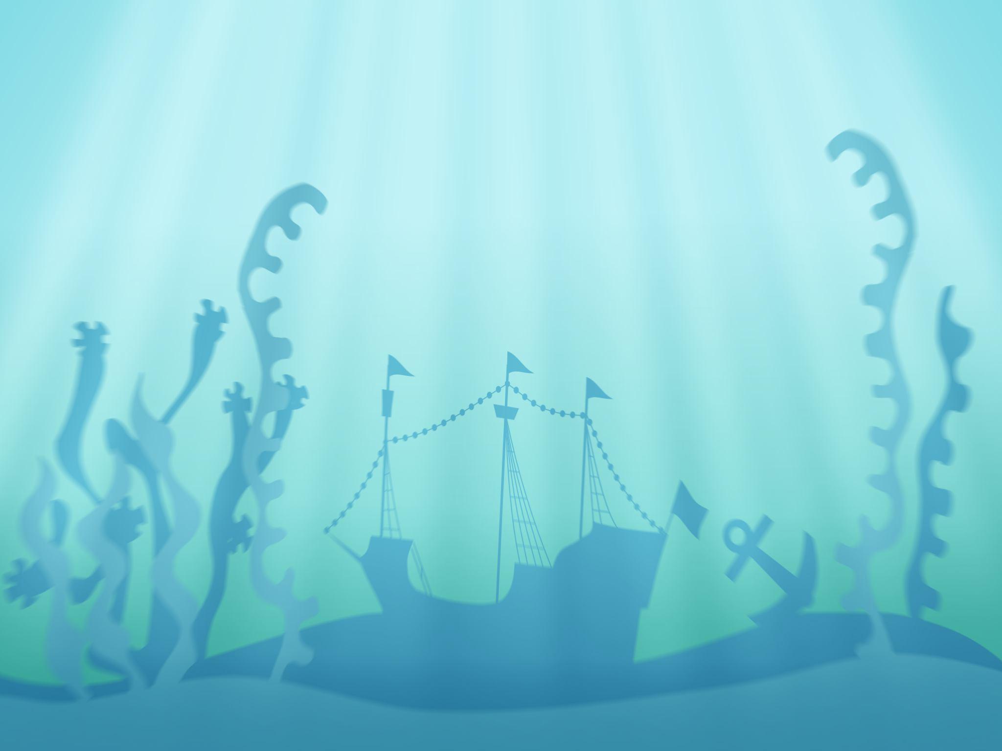 underwater cartoon wallpaper - photo #29