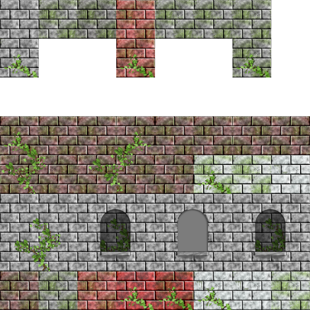 2d Wall Tilesets Opengameart Org